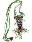 TOHO - Bead Artistry Kits : Amulet Pouch Necklace - Green